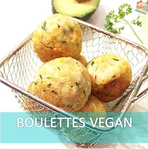 Boulettes vegan