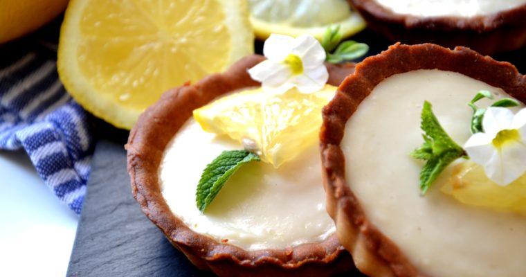 Tartelettes au citron sans sucres ajoutés