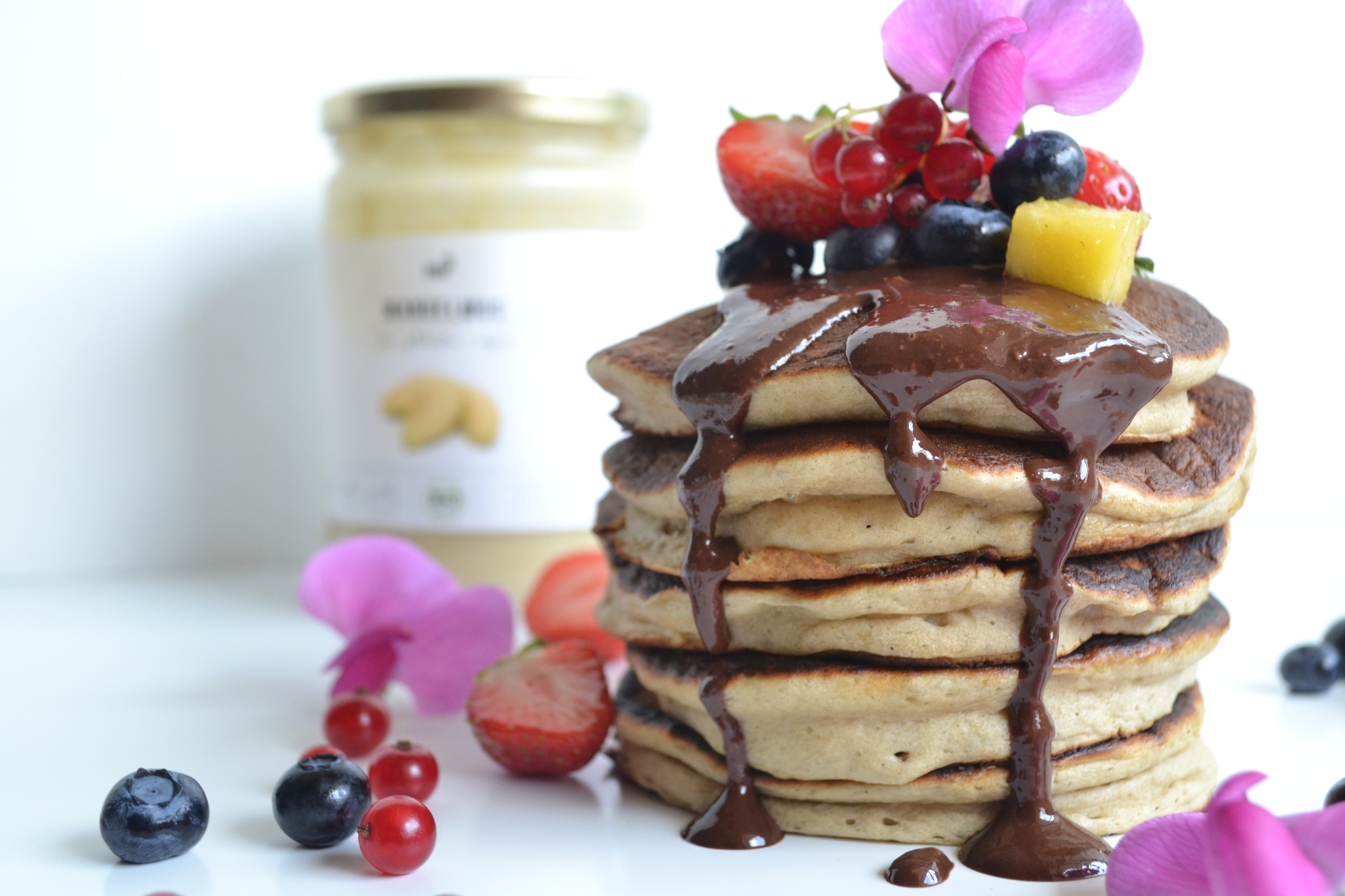 recette pancakes la banane sans sucres ni mati res. Black Bedroom Furniture Sets. Home Design Ideas