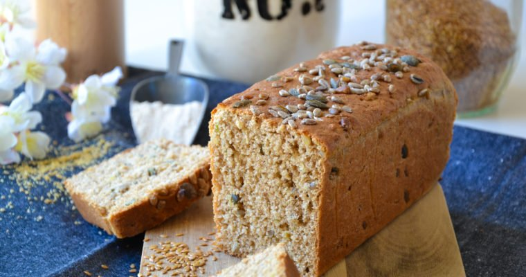 Pain de mie à la farine complète et aux graines