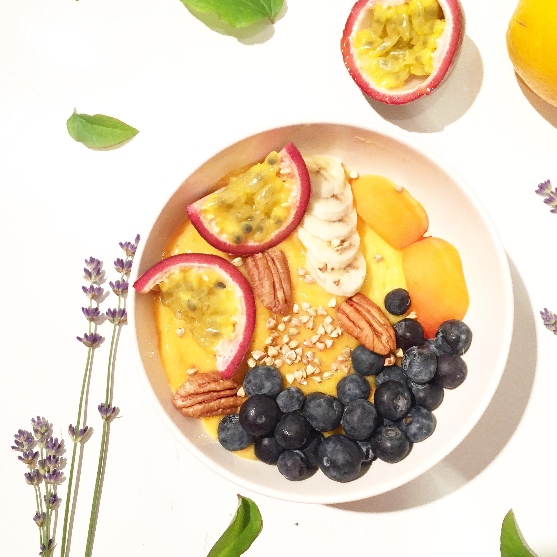 Recette porrdige froid l 39 abricot petit d jeuner sain healthyfoodcreation - Recette petit dejeuner sain ...