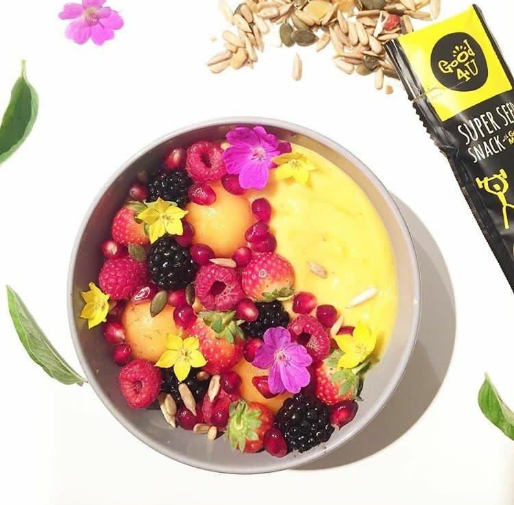 Smoothie – bowl banane & mangue