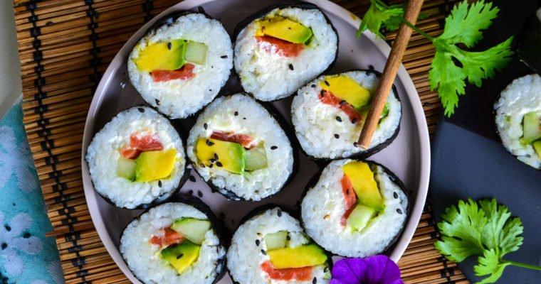 Makis maison (sans vinaigre de riz)