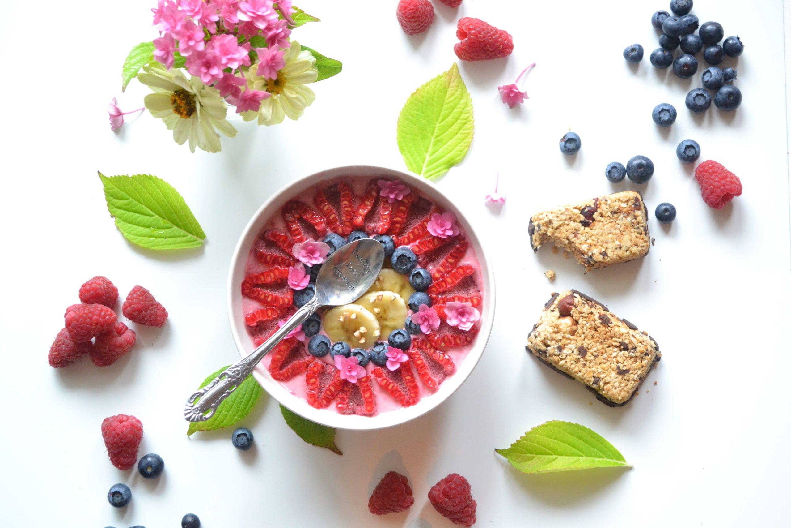 Smoothie – bowl aux framboises