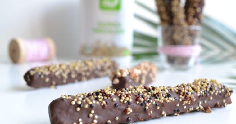 Crustis sticks chocolat & quinoa