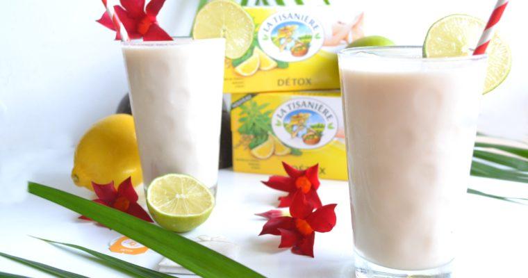 "Milk shake glacé La Tisanière"""