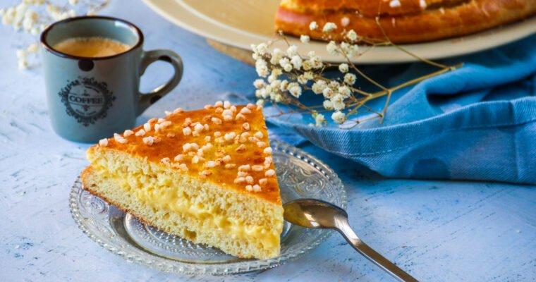 Tropézienne sans sucre raffiné ni beurre