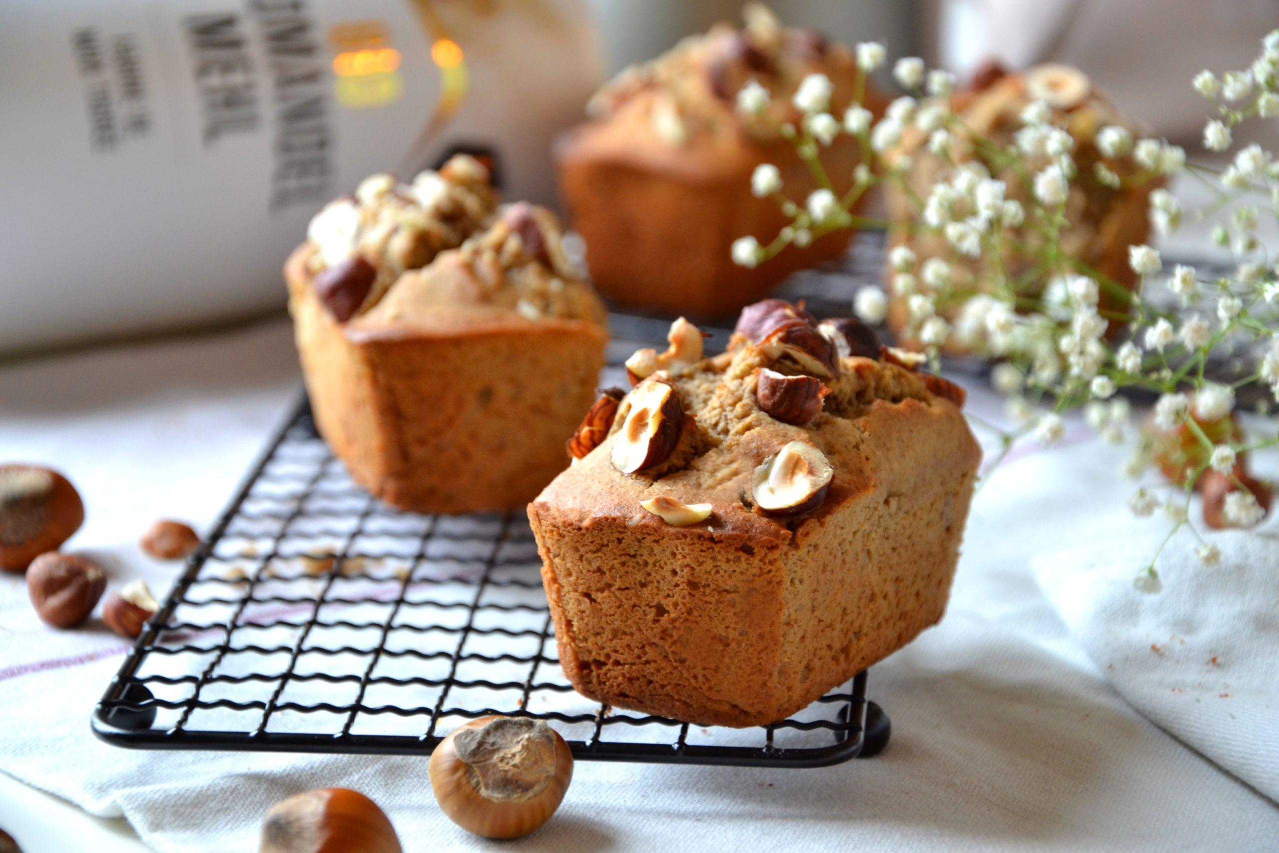 Mini cakes (ou financiers) à la farine de souchet