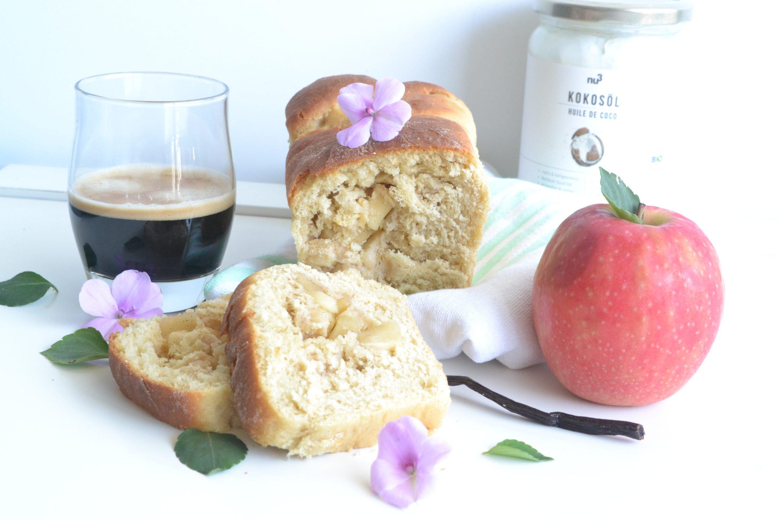 Brioche pommes – vanille