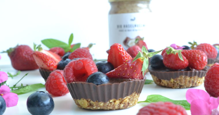 Choco cups aux fruits rouges