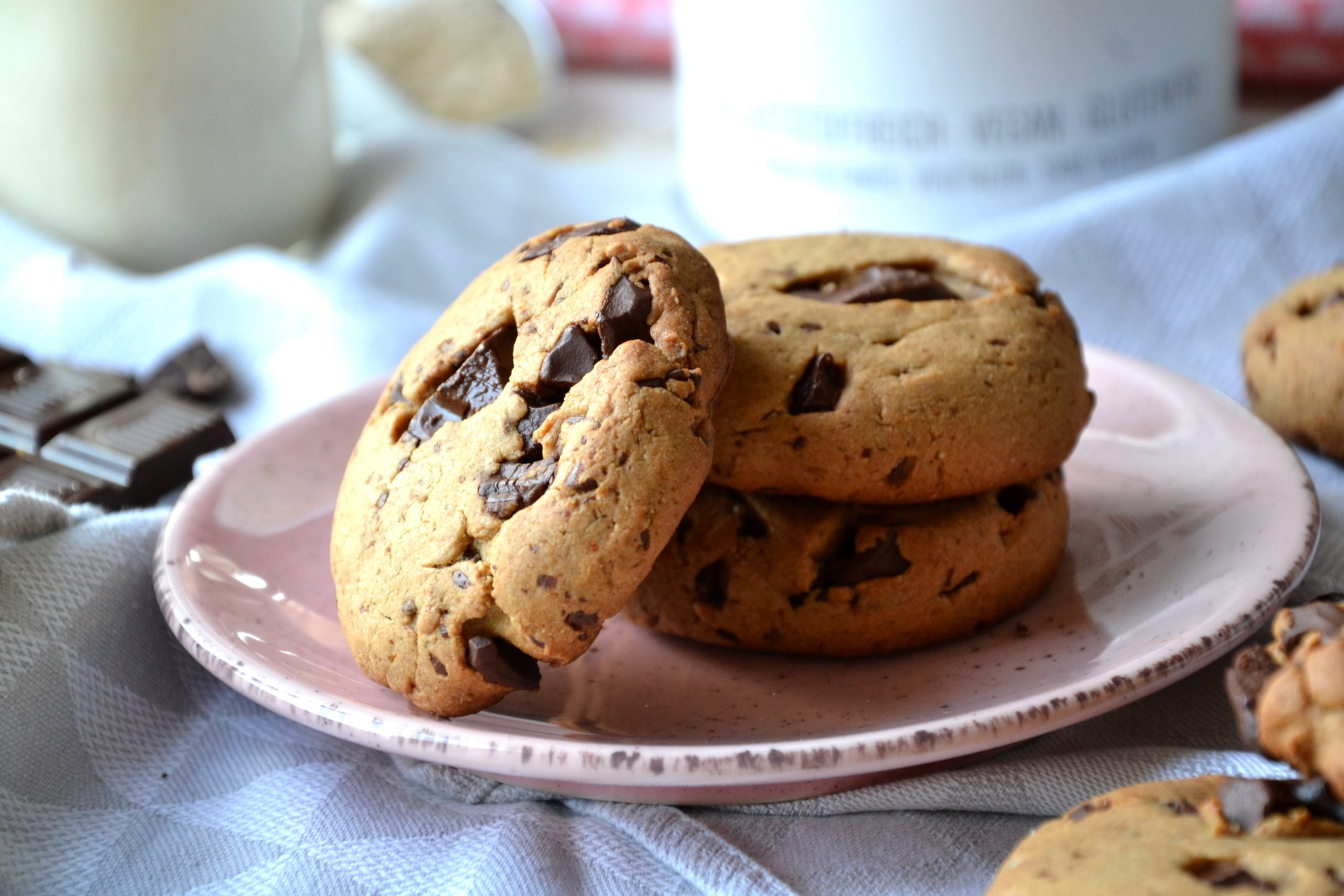 Cookies à la farine de souchet