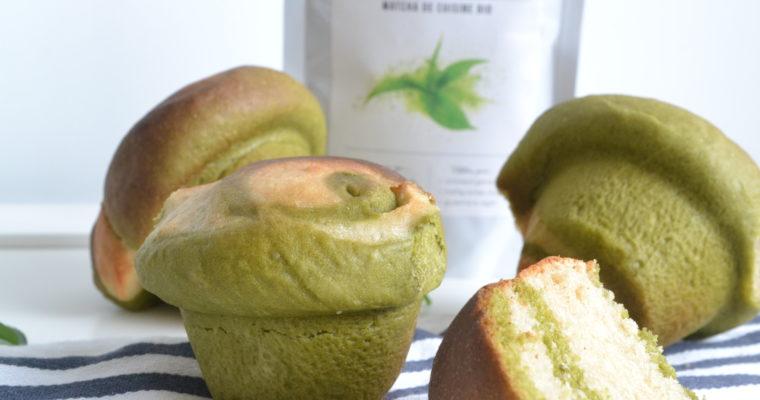 Briochettes au thé vert matcha