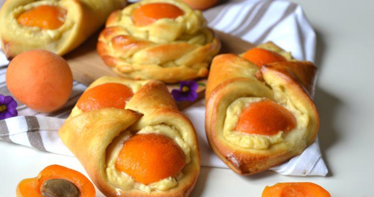 Oreillons briochés aux abricots