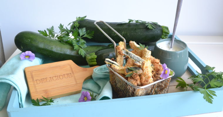 Frites de courgettes sans friture