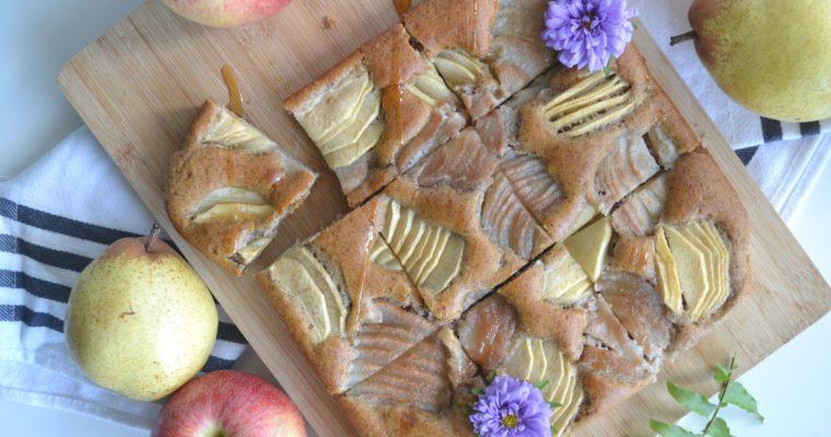 Moelleux pommes et poires
