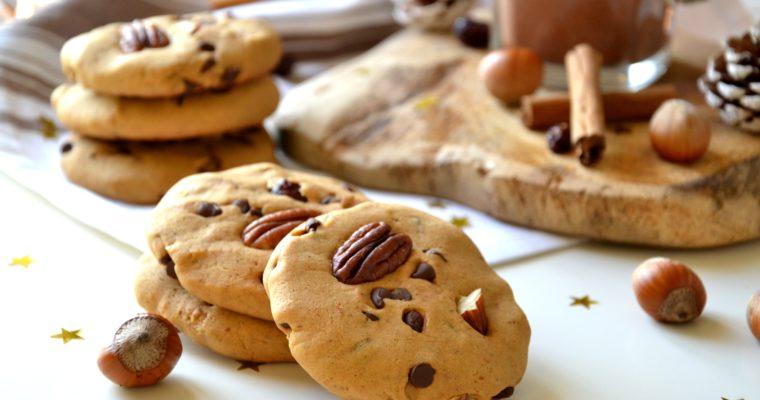 Cookies de Noël, sans sucre raffiné ni beurre