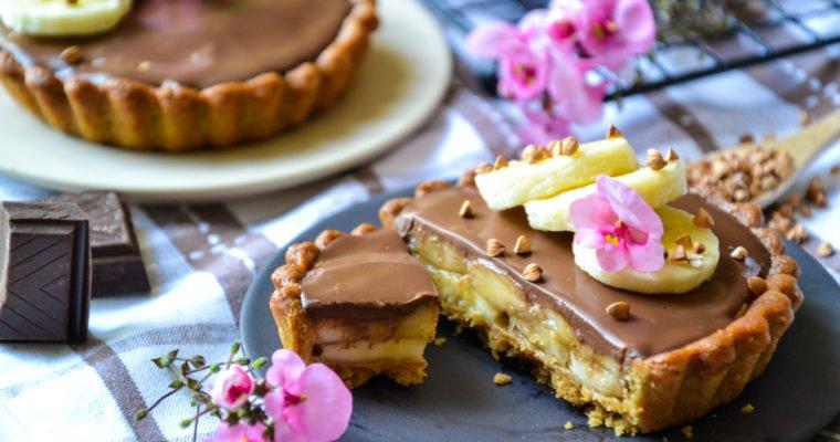 Tartelettes banane et chocolat