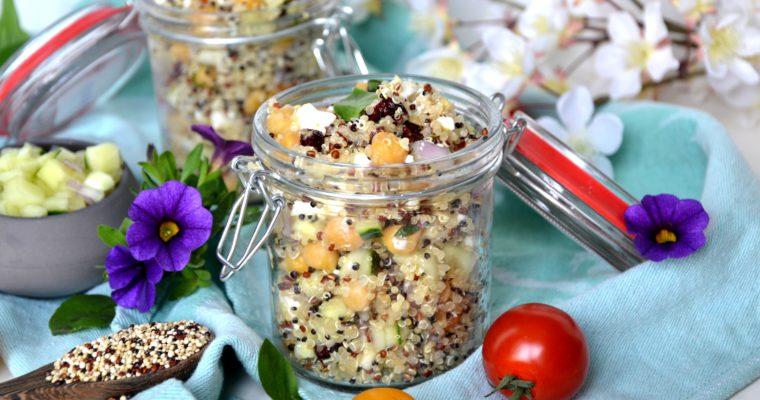 Taboulé de quinoa végétarien