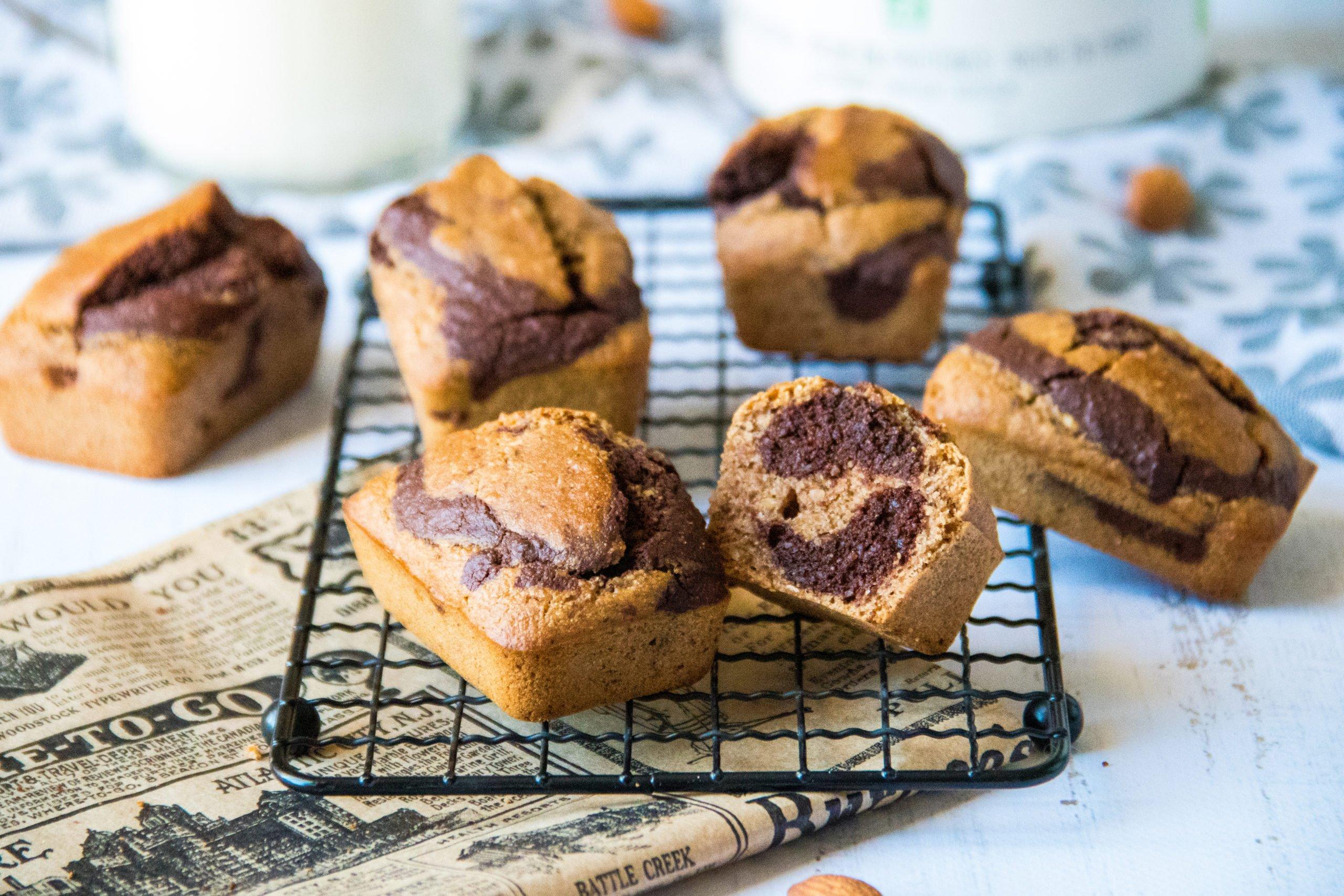 "Mini cakes à la farine d'amande façon ""Savane"""