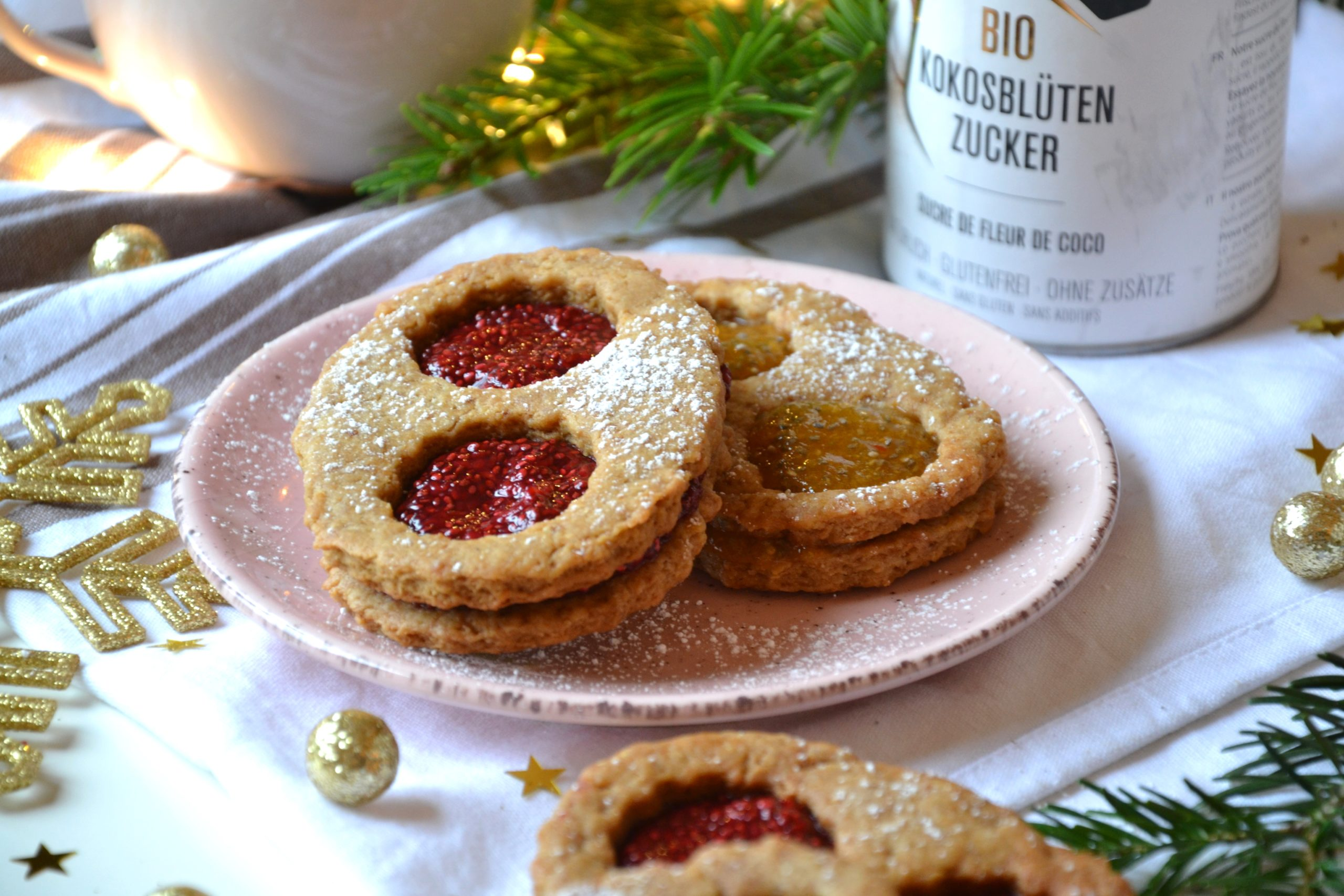 Biscuits lunettes sans sucre raffiné ni beurre