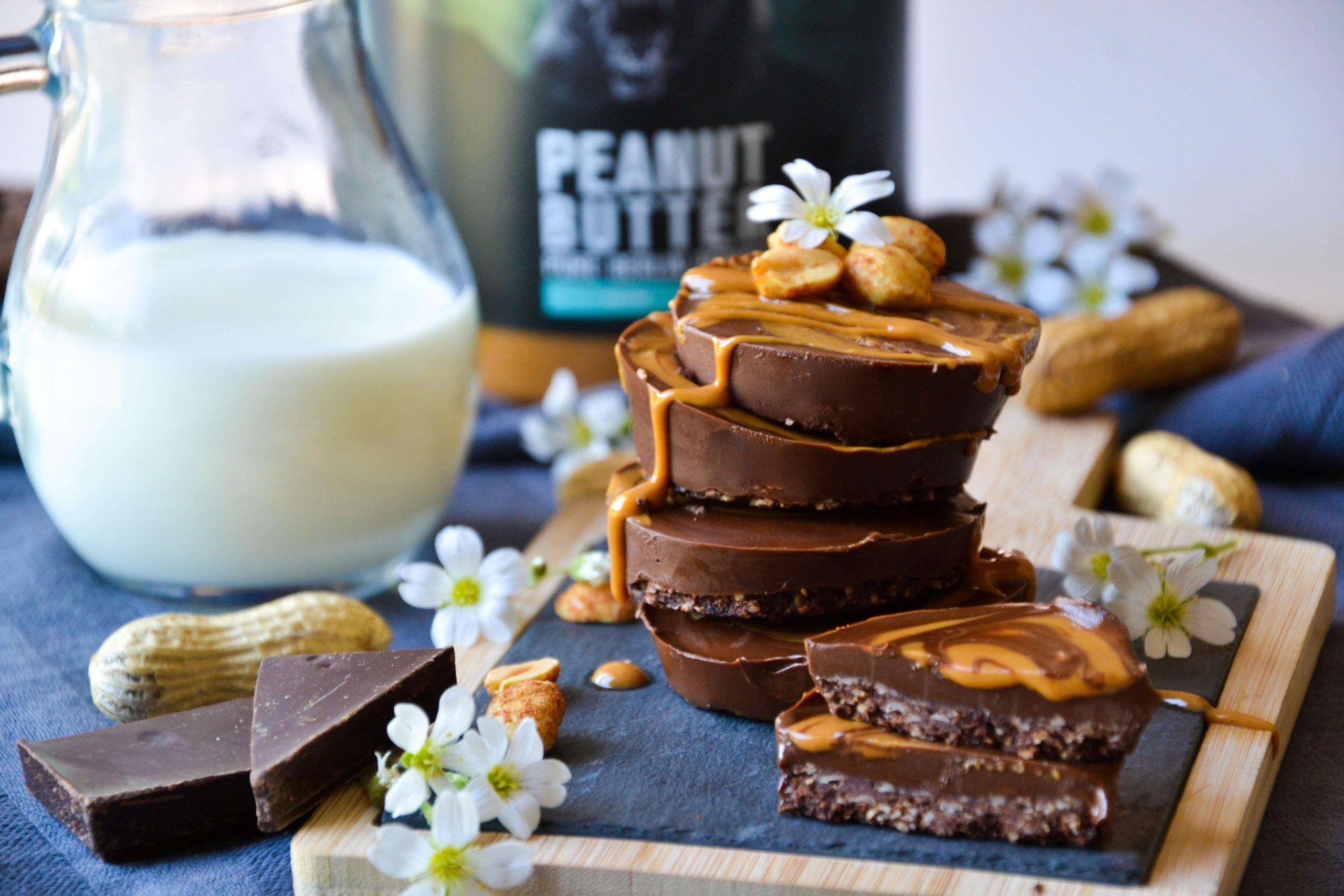 Médaillons chocolat – cacahuètes