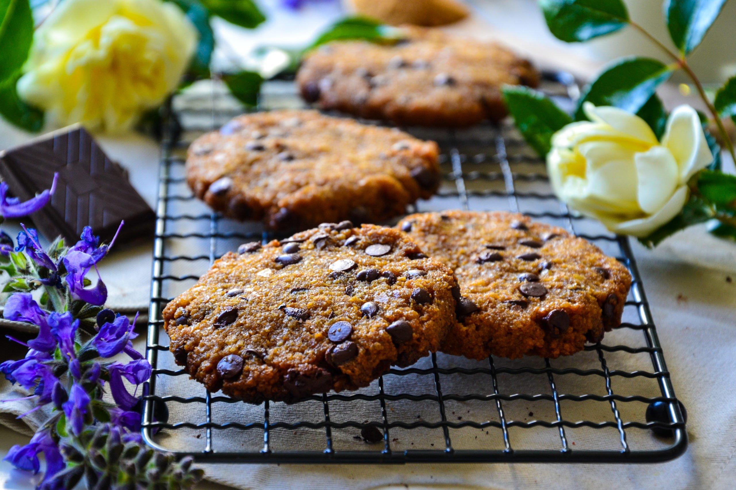 """Cookies """"zéro déchet"""" sans farine"""