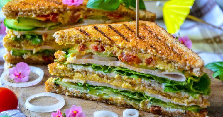 Club sandwich sain et gourmand