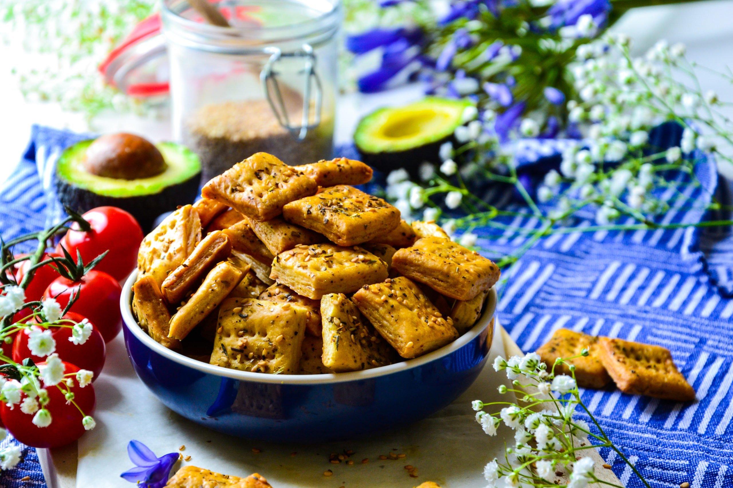 Crackers apéritif faciles et légers