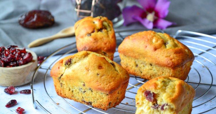 Mini energy-cakes aux fruits secs sans sucre raffiné
