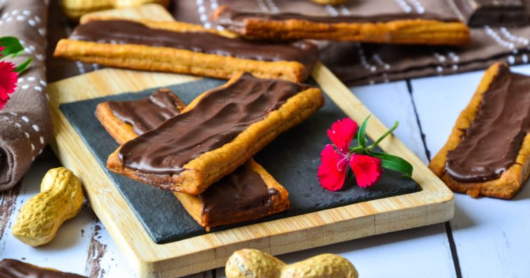 "Biscuits façon ""Twix barres"" healthy"