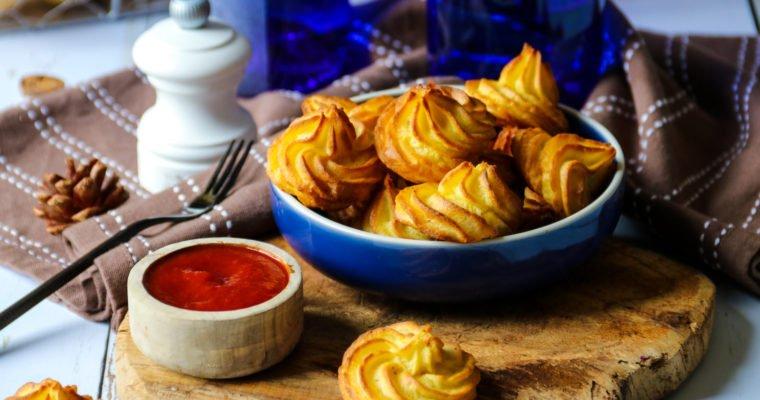 Pommes duchesses sans beurre