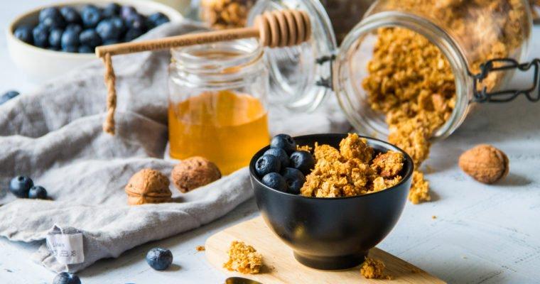 Granola healthy miel & noix