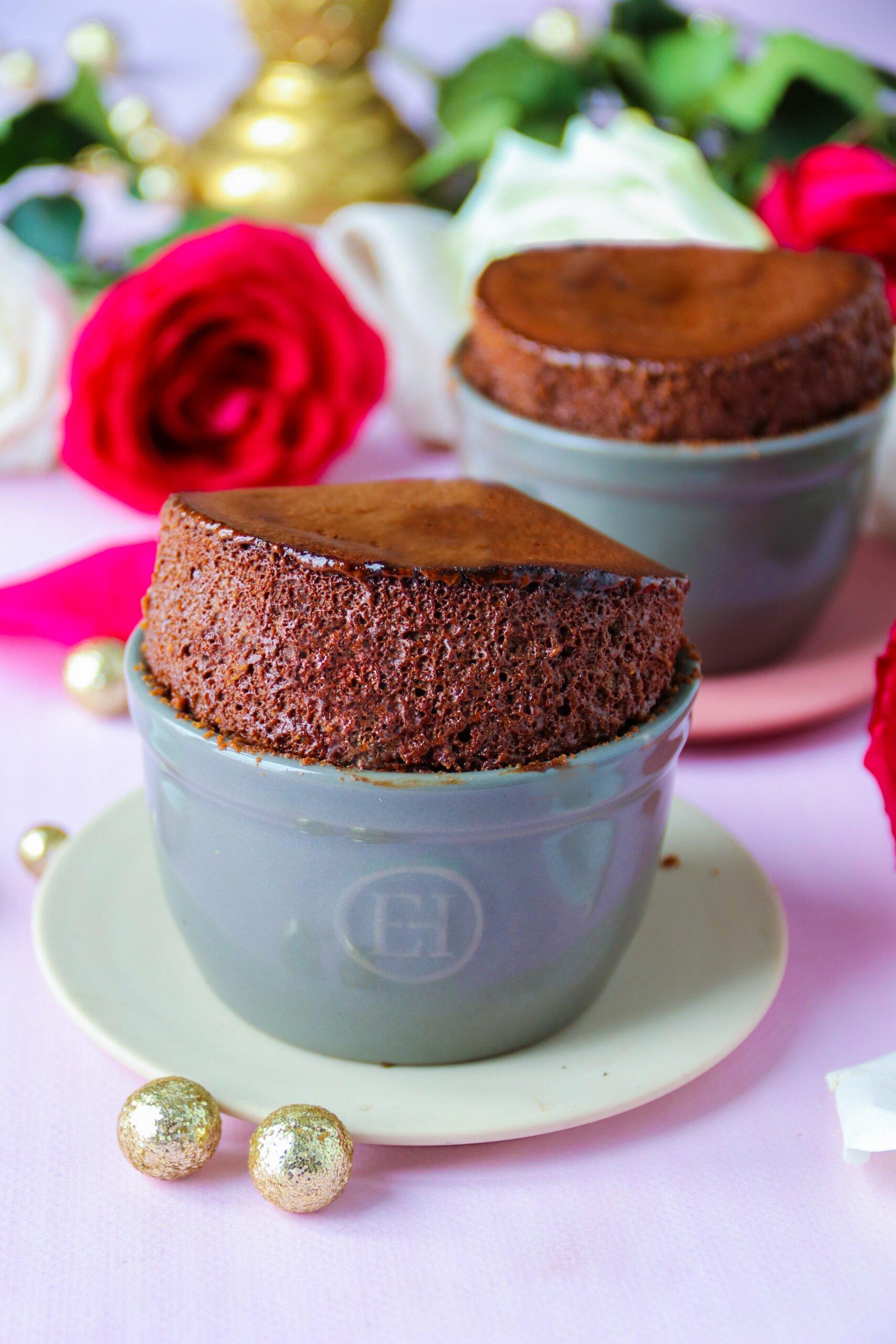 Dessert St Valentin : soufflés au chocolat healthy et faciles