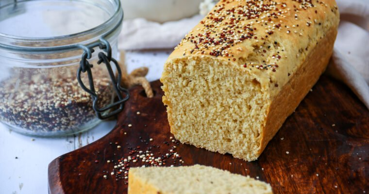 Pain de mie à la farine de quinoa
