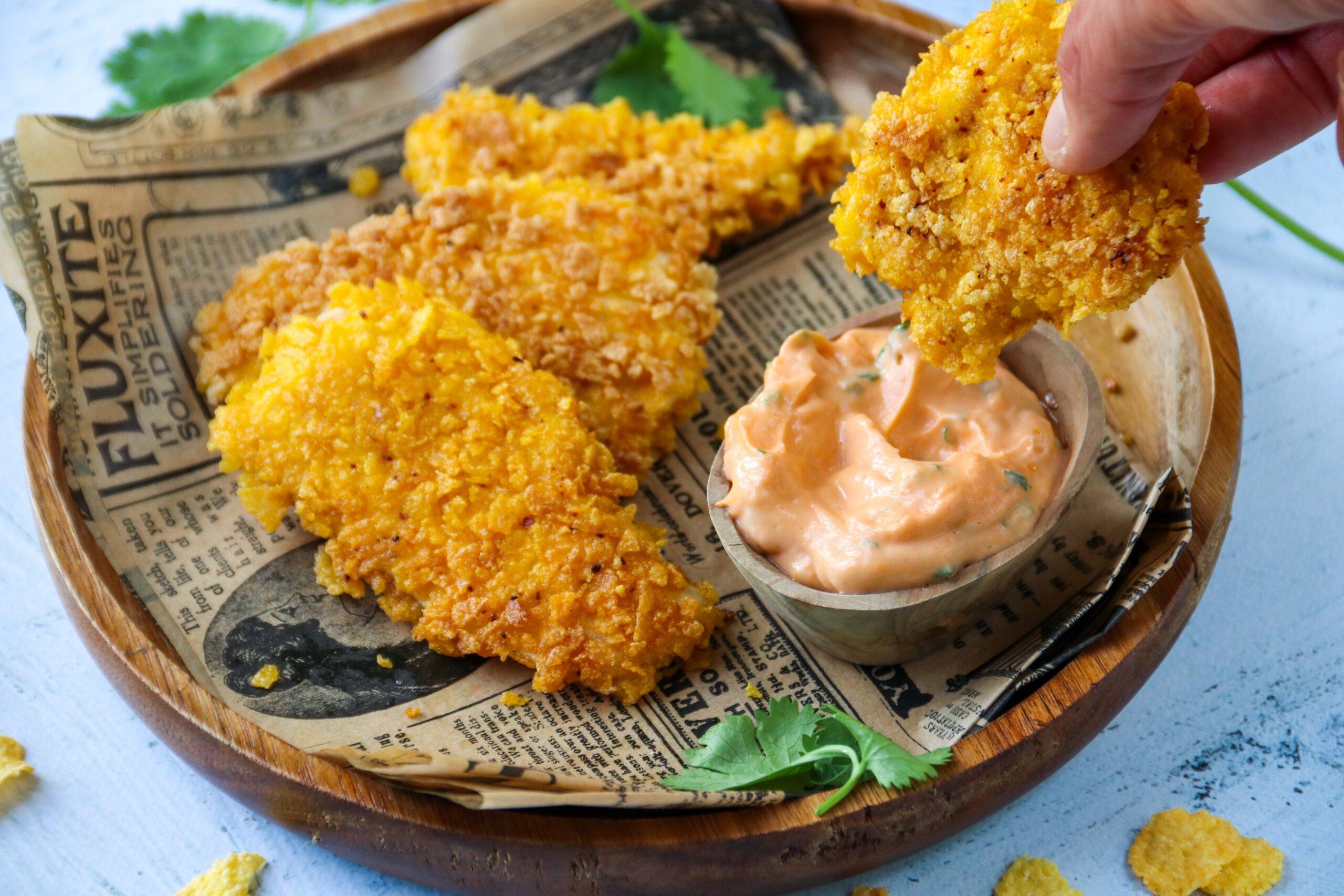 Crousti'nuggets sans friture